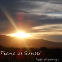 Piano at Sunset